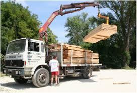 camion douat bois l'isle-jourdain gers